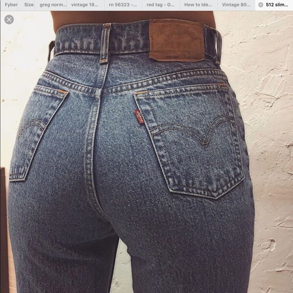 0d04120fdb7 Levi's Jeans | Vintage Levis High Waisted 512 Slim Fit Tapered ...